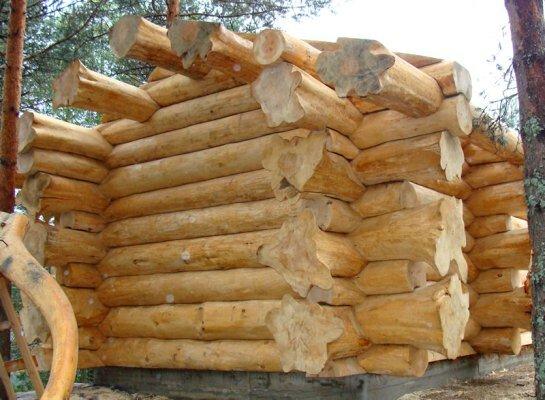 Деревянный сруб для дома своими руками